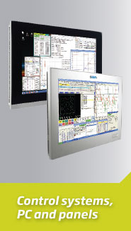 Control systems, PC and panels
